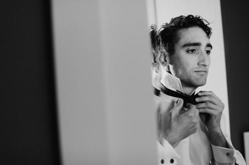Groom getting ready for wedding | Events Luxe Weddings
