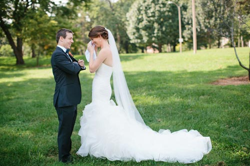Bride and Groom at the park | Events Luxe Weddings