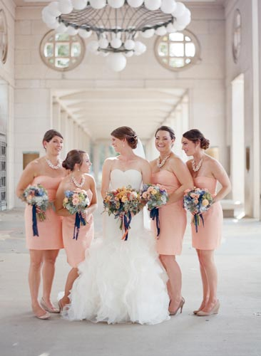 Bridesmaids at Forest Park | Events Luxe Wedding