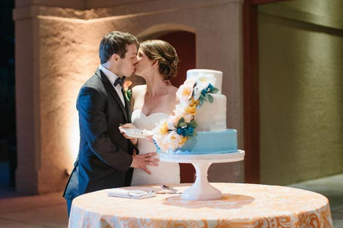 bride & groom at World's Fair Pavilion in St. Louis | Events Luxe Weddings