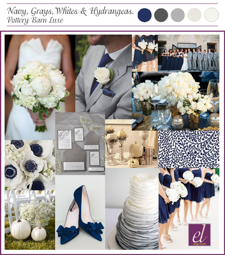 Fall Wedding | Blue & Silver Colors | Events Luxe Weddings