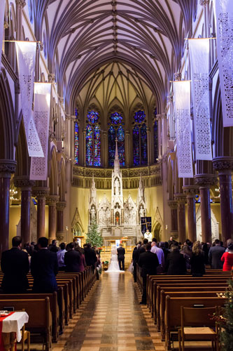 St. Francis Xavier College Church | Events Luxe Wedding
