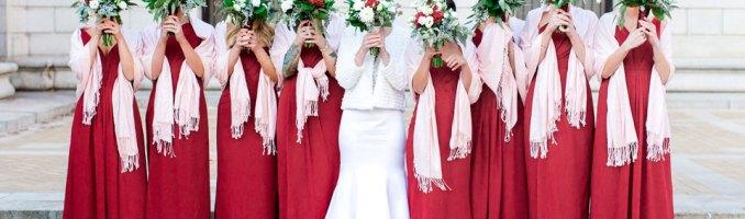 Aimee & Max – A Bashful Rouge Winter Wedding