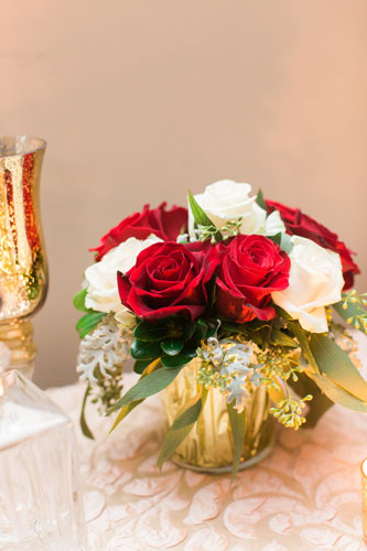 Red wedding bouquet | Events luxe Weddings