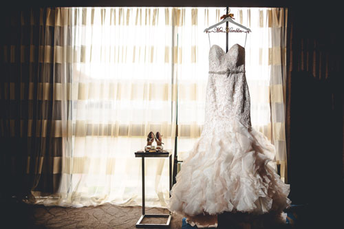 Wedding Dress window photos | Events Luxe Weddings