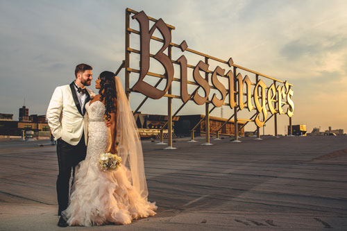 Roof at Bissingers | Events Luxe Wedding