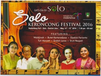 Solo Keroncong Festival 2016 di Benteng Vastenburg #KotaSolo