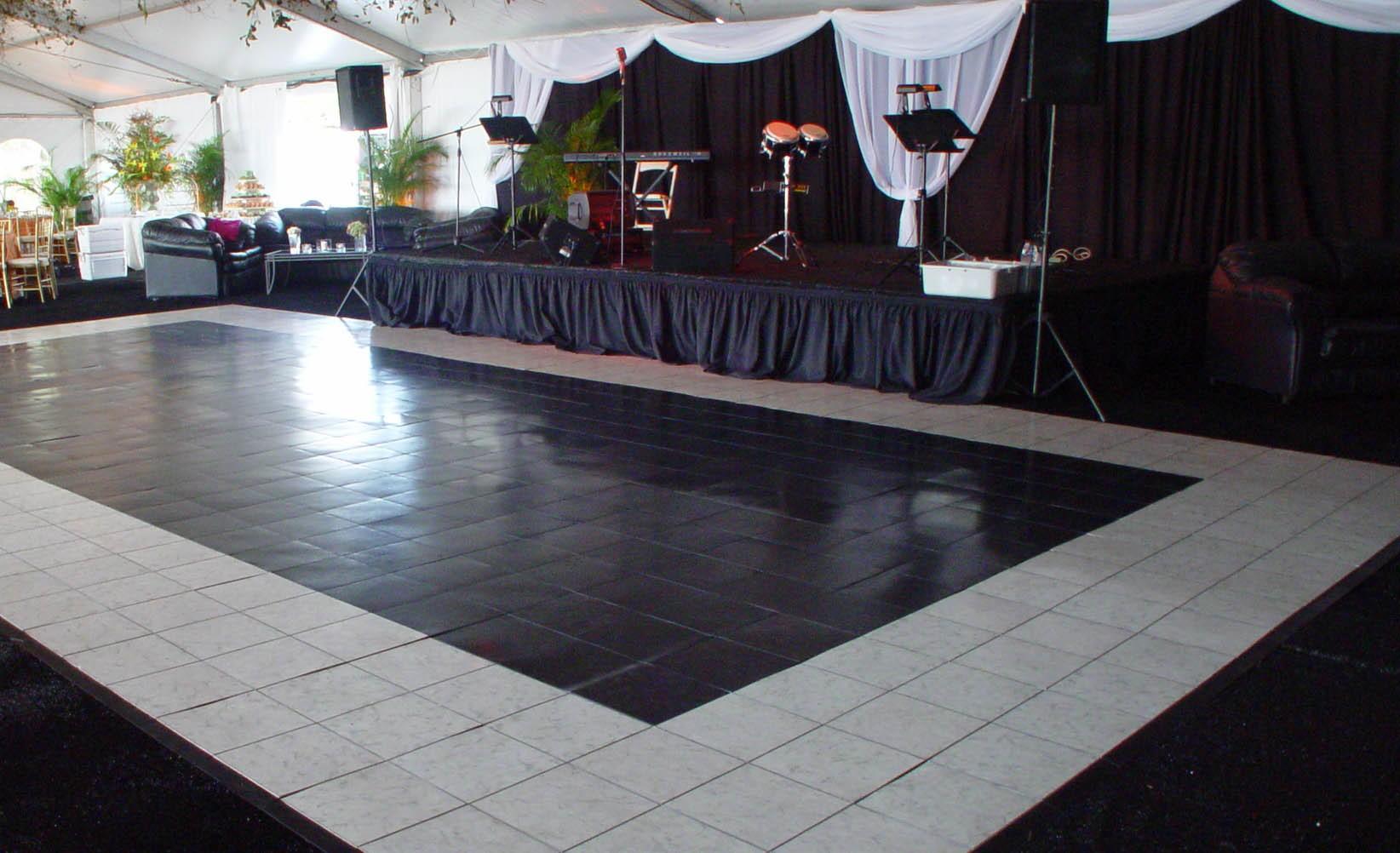 Black And White Dance Floor Rental Orlando Orlando Event
