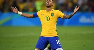 Naymar Winning goal in Rio 2016