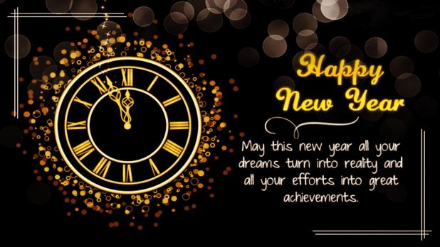 new year wishes messages image