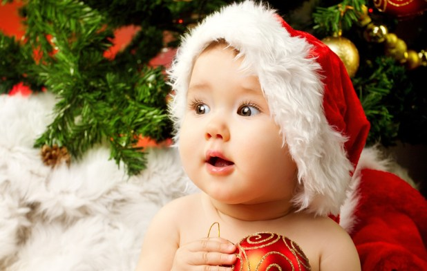 Cutest Christmas Baby Images 2017