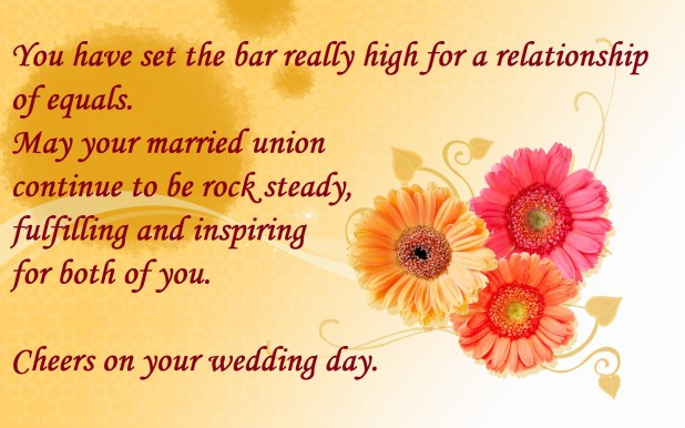marriage greetings