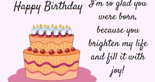 cute quote on birthday