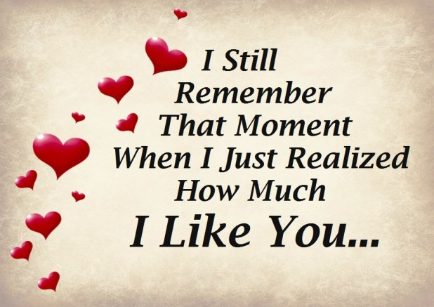 Romantic & Loving I Like You Quotes Images 2017