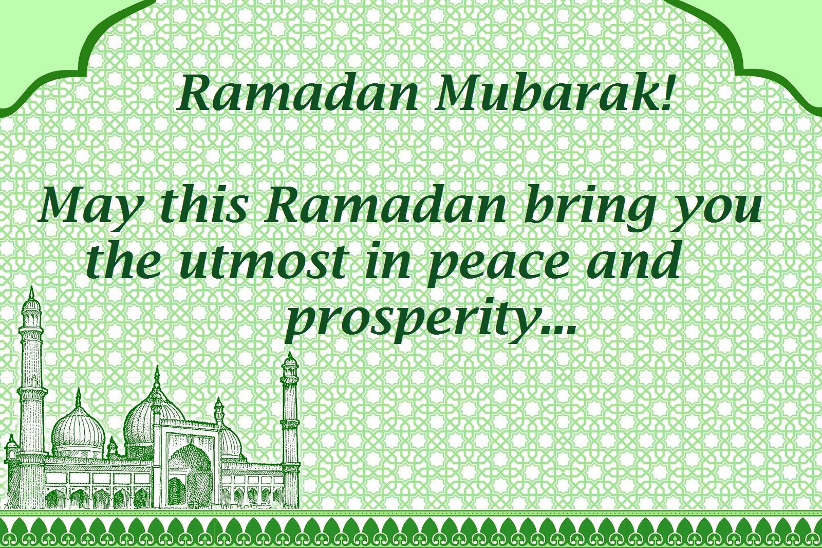 Beautiful Ramadan Greetings Wishes Messages Images 2017