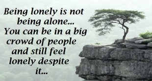 feeling alone quotes 2017