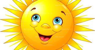 smiling sun clipart image