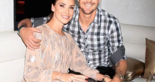 Kevin Pietersen with his wife
