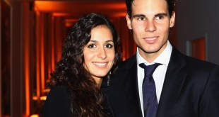Rafael Nadal with his Wife 2017 wallpapers