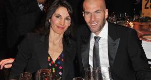 Zinedine Zidane Wife 2017 picture