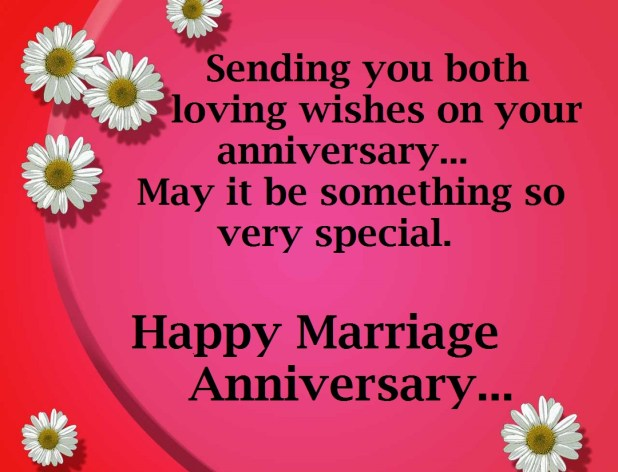 Wedding Anniversary Wishes Messages Greetings 2017