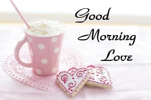 good morning love image