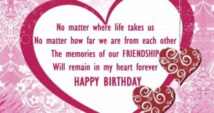 image for happy birthday best friend
