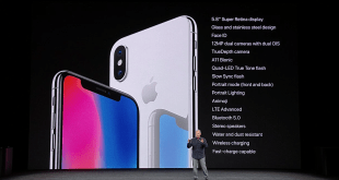 Apple iPhone X features image
