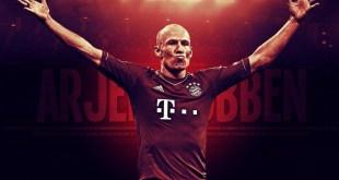 Arjen Robben Football Wallpaper HD