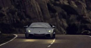 Black Lamborghini hd wallpaper
