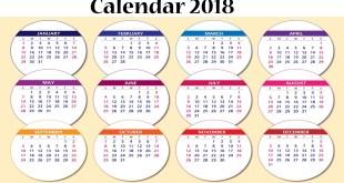 calendar 2018 hd image