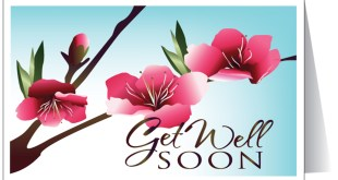 get well soon card image...