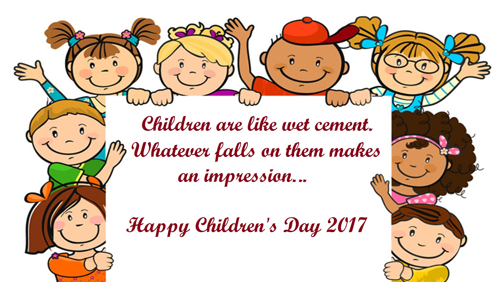 Happy Children's Day Quotes Images & Pictures 2017