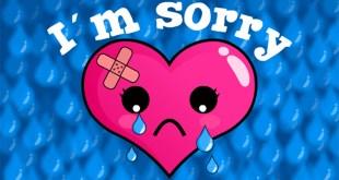 cute sorry card image
