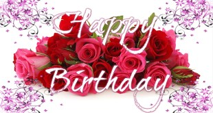 lovely card for birthday wishes image