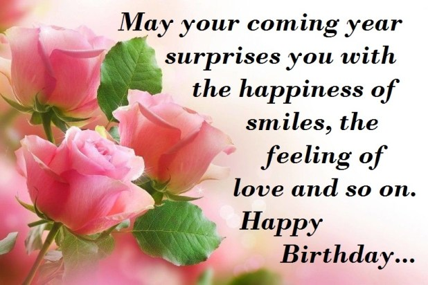 lovely happy birthday wishes image