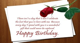 happy birthday wishes for lovers image