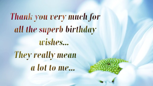 Birthday Wishes Reply Image