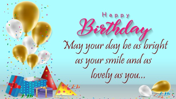 Beautiful Happy Bday Wishes Image