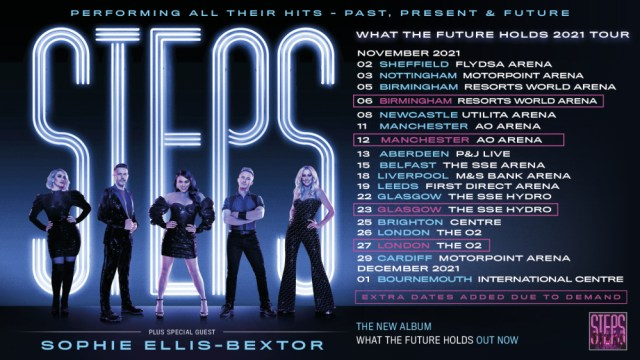 Steps VIP Tickets What The future Holds Tour 2021