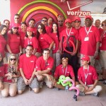 Event Staff for today's Coconut Grove Art Festival (tags: #VZW, Verizonl