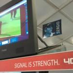 Signal is Strength at Verizon. 4G LTE stream of the TPC