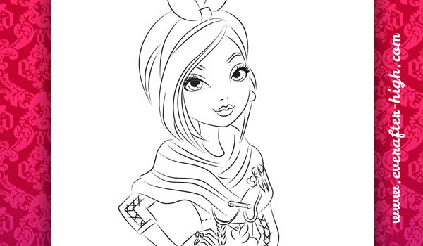 Ever After High Coloring Pages Ever After High