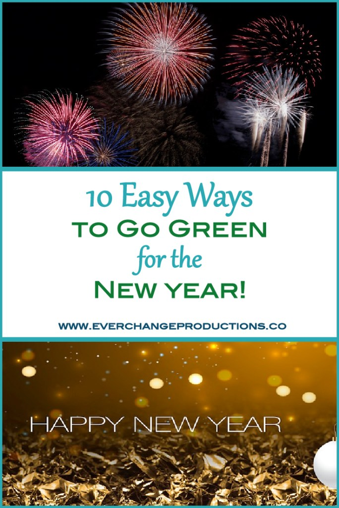 Looking for sustainable New Year's Resolutions? Make steps toward an eco-friendly life with these easy ways to go green in 2018!