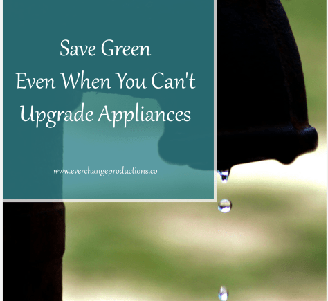 When you don't have control over your living circumstances, it seems impossible to save green, whether money or energy. With small changes it can be done!