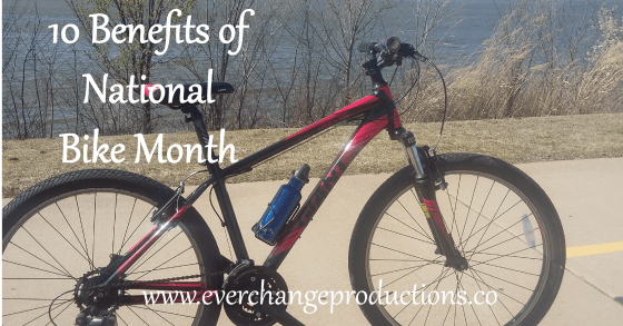 National Bike Month in May is just around the corner. Check out these benefits of this month and how to celebrate it!