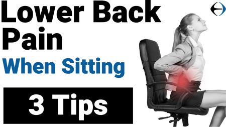 3 tips to reduce lower back pain - YouTube thumbnail