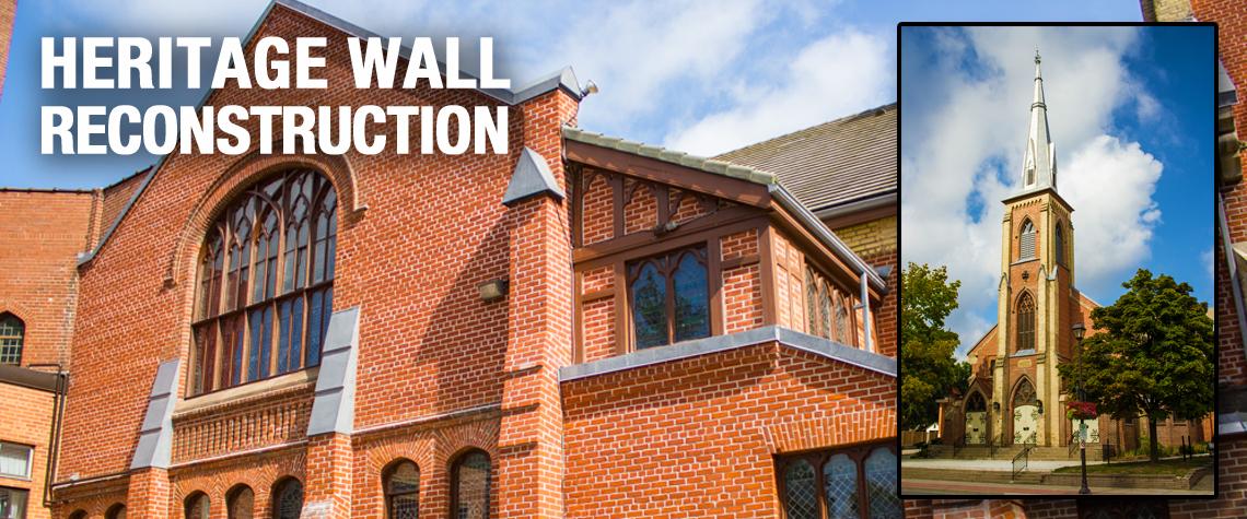 Everest Restoration, Heritage Wall Reconstruction