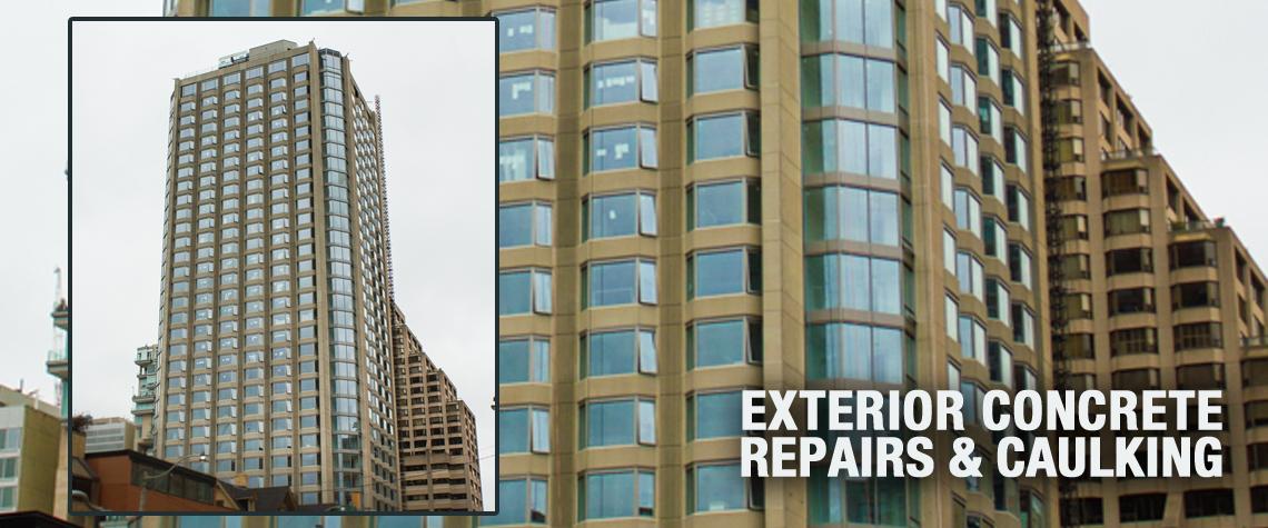 Everest Restoration, Concrete Rehabilitation, Caulking