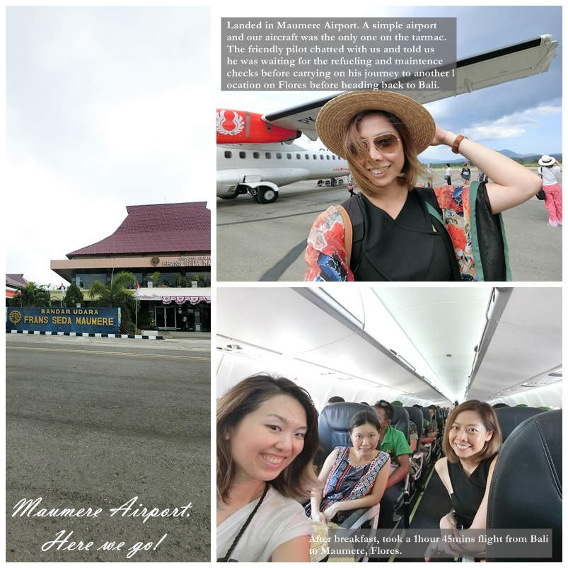 Bali to Maumere Flores Indonesia